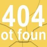 Page non trouvée-erreur 404